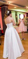 Piękna Suknia Ślubna, gorset, bolerko, przyjedź i sprawdź, prywatnie