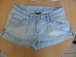 Krótkie spodenki jeansy dżinsy rozm. 38