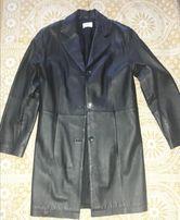 кожаная куртка френч р.12-14