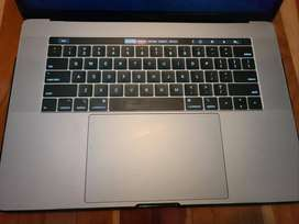 2018 Macbook Pro 15 Inch with Touch Bar
