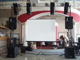 Аренда проектора для слайд шоу, презентации.