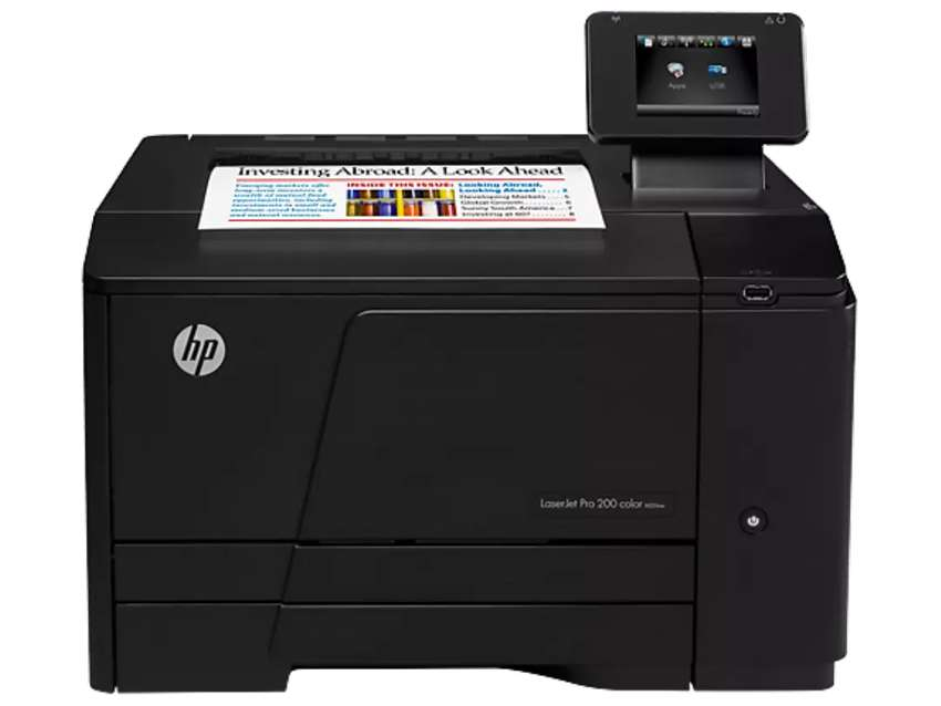 Hp laser jet pro 200 color printer M251nw 0