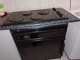 Gemini petite oven with thermofan,hob and extracter