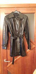 Женская кожаная куртка, пиджак. Большой размер