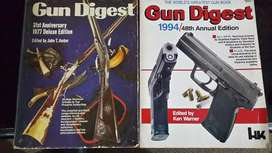 Gun digest Books 1977 and 1994 edition. ( Collectables)