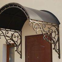 Металлоизделия, ворота, двери, навесы, лестницы, козырьки. Ковка.