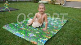Детский игровой/развивающий коврик для детей/игр/ползания на пол Авто