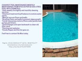 Swimming pool and pond maintenance.7507
