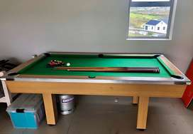 Pool Table, wooden base