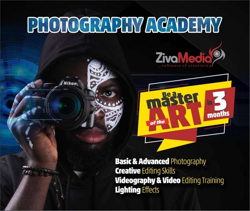Photography, Videography And Makeup Training 0
