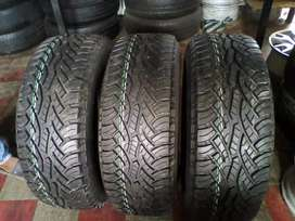 265/65/17 Continental tyres