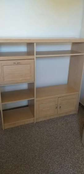 Wood TV cabinet for sale Price Negotiable