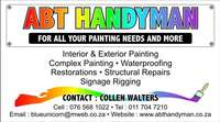 Image of ABT Handyman Services - Waterproofing, Painting, Tiling and more