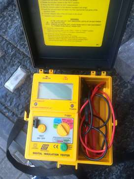 Top Tronic insulation tester Y1851 still in a box.i brought it in marc