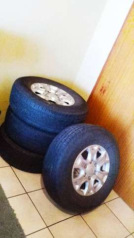 ford ranger mags and tyres