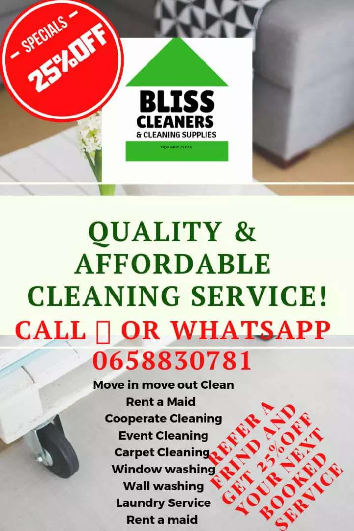 Bliss cleaners 0