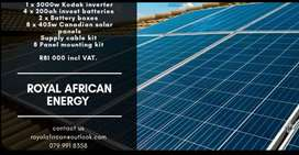 Solar and backup systems