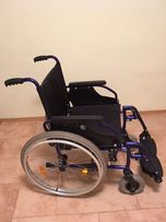Wózek inwalidzki Vermeiren D200, lekki aluminiowy + siatka