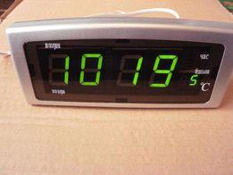Часы CX-818 настольные электронные c градусником НОВОЕ!
