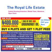 Royal Life Estate, Abeokuta 0
