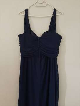 Navy blue bridesmaid dress for sale