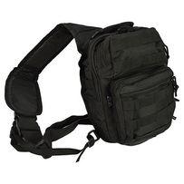 Рюкзак через плечо малый Assault MIL-TEC Black, 8л 14059102
