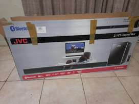 Jvc sound bar and sub