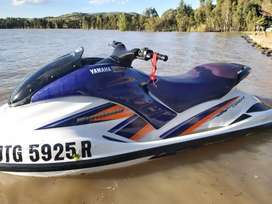 Yamaha gp1300r waverunner plus trailer