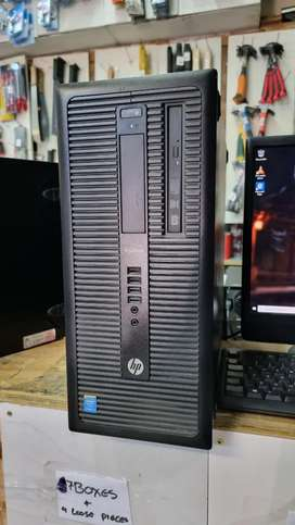 hp core i3 4th gen prodesk towers