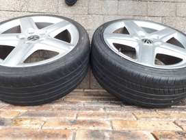 Audi OEM Mags and tyres