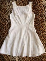 Белое платье Oasis