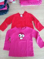 Ciuszki r. 74 jesień zima zara c&a ubranka dla dziewczynki