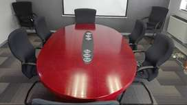 Office Boardroom Table Only