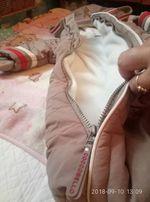 спальный конверт для малыша на осень
