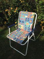 3 krzesła turystyczne do renowacji