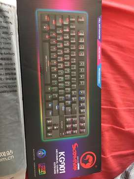 Gaming mouse gaming machanical keyboard and a large mousepad