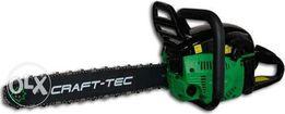 Бензопила CRAFT-TEC CT-5000 2 шины+2 цепи новая гарантия