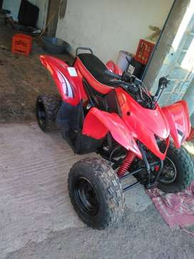 Aeon cobra 220cc red in colour freshly painted rims also newly painted
