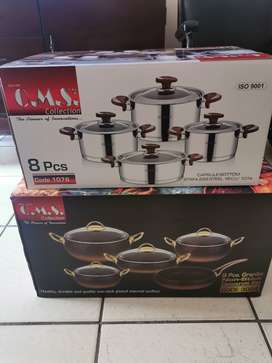 OMS Granite and S/Steel cookware