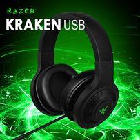 АКЦИЯ! Качественные игровые наушники гарнитура Razer Kraken USB