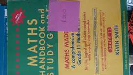 Grade 11 Math study guide and handbook