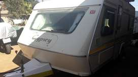 GYPSEY CARAVETTE 6 B 1992 MODEL IN VEREENIGING WITH FULL TENT AND BIG