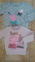 Стильный набор:свитшот кофта кофточка Пеппа Peppa pig для модницы 2/3г