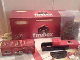 Набор: Машинка для набивки +гильзы для сигарет блок 500шт