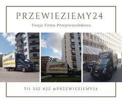 Przeprowadzki biur, mieszkań, domów, Transport, Przeprowadzka, Bus Van