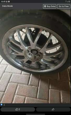 18inch mag rims with tyres,  swap with 15,16,17 steel  or mag