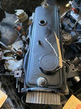 TOYOTA TAZZ 1.3 12v 2E SUB ASSEMBLY AND CYLINDER HEAD FOR SALE