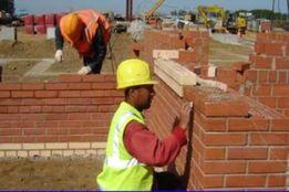 Строительство домов под ключ. Фундамент. Кровельные работы.