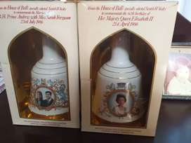 Royal family antique Bells Scotch Whiskey 1986
