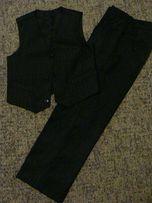 Школьный костюм двойка (брюки и жилет) - 1200 руб.
